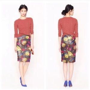 J. Crew Collection • No. 2 Floral Pencil Skirt